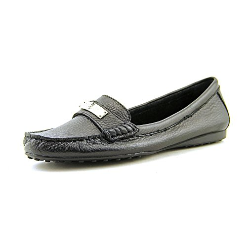Coach Womens Fredrica Pebble Grain Black Leather Loafer Flats 10 B(M) US - Coach Shipping