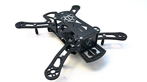 amazoncom space one fpv orbit one 250 quadcopter 3 piece frame carbon fiber edition diy mini rc uav uas lightweight drone racer model baby