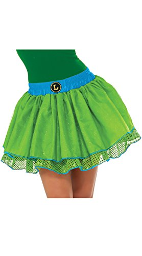 Teenage Mutant Ninja Turtles Family Costumes (Rubie's Costume Co Women's TMNT Classic Leonardo Tutu Costume, Green, Standard)