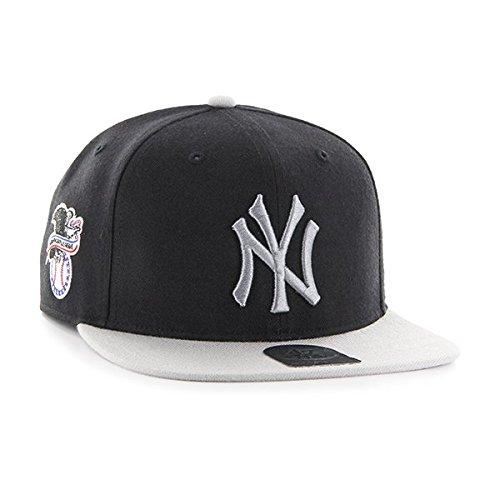 '47 Shot de MLB gris 2 York béisbol Unisex Sure Gorra Tone negro Yankees New Captain rrTxCq