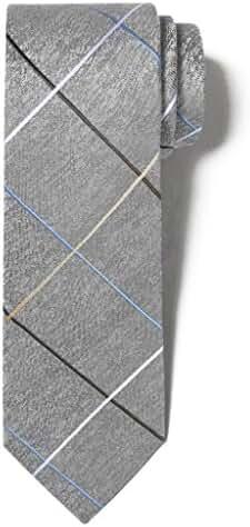 Origin Ties Men's Fashion 100% Silk Handmade Checkered Windowpane Entry Lux Tie