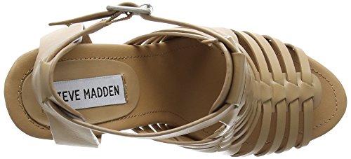 Steve Madden Sandrina Sm - Sandalias de tacón Mujer Marrón