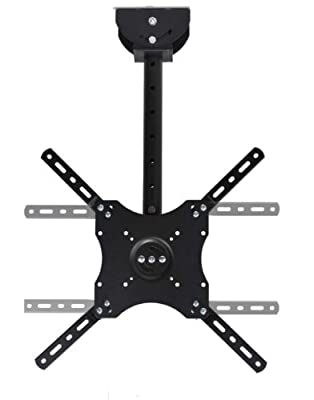 VideoSecu LCD LED Drop Bracket Ceiling Mount for Vizio E320VA E370VL E420VO E470VL M471i-A2 E470i-A0 LCD HDTV Display 1GZ