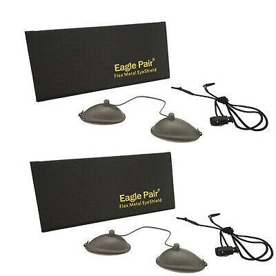 2個190nm-14000nm OD 7 +アイパッチメガネレーザー保護ゴーグルIPL美容クリニック 光脱毛用ステンレス鋼