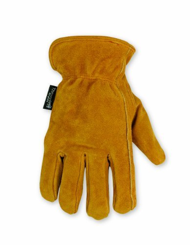 Custom Leathercraft 2056L Split Cowhide Winter Gloves, Large by Custom Leathercraft ()