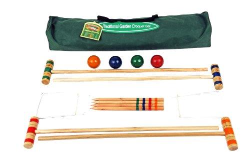 75cm Croquet Set In Canvas Tasche