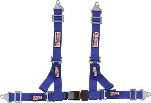G-Force 9000BK - Cinturón para afinar Hombros Individuales de 5 cm, Azul, 5.08 cm (2'')