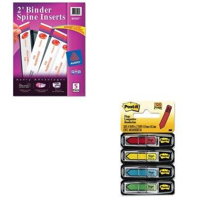 amazon com kitave89107mmm684sh value kit avery custom binder