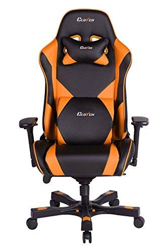 Throttle Series Echo Premium Gaming Chair (Orange)
