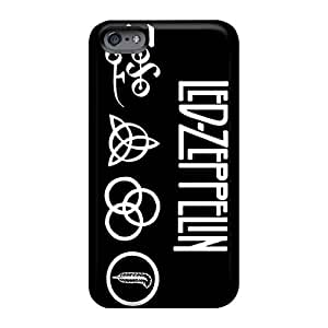 High Quality Mobile Cases For Iphone 6 With Customized Vivid Led Zeppelin Band Skin CharlesPoirier