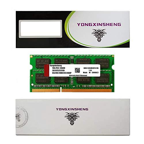 4GB DDR3 1333MHz(PC3-10600 CL11 1.5V 204pin SORAM SDRAM Non-ECC Unbuffered Stick Module for Laptop Memory (Green)