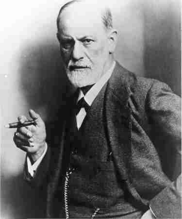 Photo Psychiatrist Sigmund Freud Smoke Cigar