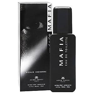 Mafia Eau De Toilette (EDT) for Men - 3.3oz, Natural Spray, Best Gift for Him - Made in Russia