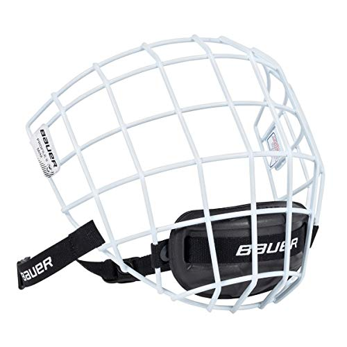 Bauer Profile II Facemask (White, Medium)