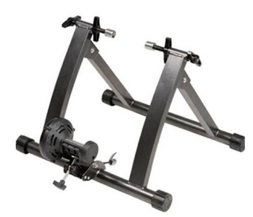 K & A会社自転車スタンドPracticeトレーナー練習Ironブラックインドア有線Bikeバランス安定性Roadブラック B074W57LCM
