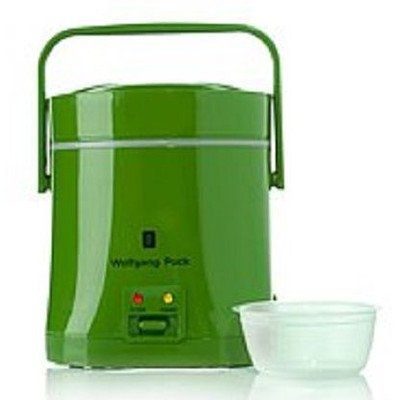 Everyday Essentials 1.5-Cup Perfect Portable Rice Cooker Finish: Green by Wolfgang Puck