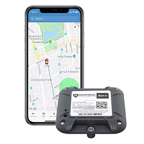 4G LTE Eon 4 Long Life GPS Tracker for Covert Monitoring of Teen Drivers, Kids, Elderly, Employees, Assets, Warehouse, Tracks Indoor and Outdoor