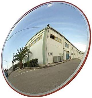 Geng カーブミラー ポータブル凸広角レンズ、PCセーフティ屋外広角スーパーマーケット盗難防止ミラー