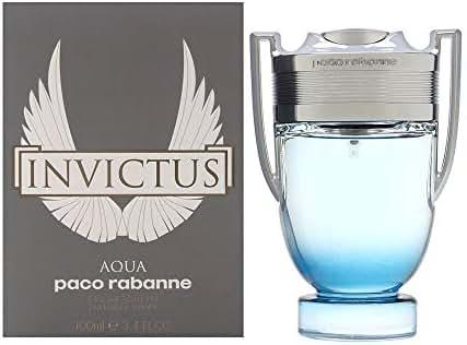 Invictus Aqua by Paco Rabanne for Men 3.4 oz Eau de Toilette Spray