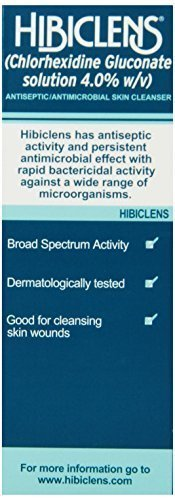 Hibiclens Antimicrobial and Antiseptic Skin Cleanser Liquid - 16 oz (Pack of 2)