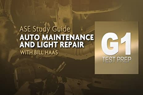 Amazon.com: Complete ASE G1 Auto Maintenance and Light Repair Test ...