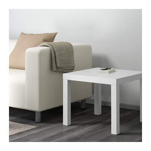 LGVSHOPPING Tavolino Lack Ikea Colore Bianco 55 x 55 cm casa Salotto cameretta Camera