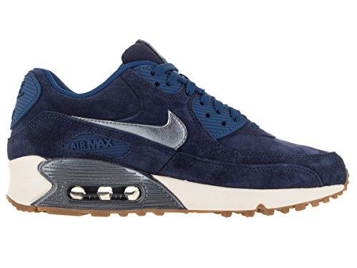Blå Nike Mtlc Bl Prm Navy Dsk W Gr Til Nvy Max Sneakers Air ghst Kvinder 90 Ruskind sl midten vZH6ndWA