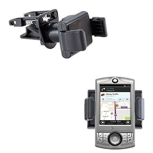 (Gomadic Ultra Compact Air Vent Clip Based Cradle Holder Car / Auto Mount suitable for the HTC CDMA PDA Phone )