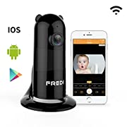 FREDI Baby Monitor Wireless WiFi Ip Surveillance Camera 1080P HD Security Wireless Camera with Two-Way Talking,Infrared Night Vision,P2P WPS Ir-Cut Security Camera Motion Detection Loop Recording