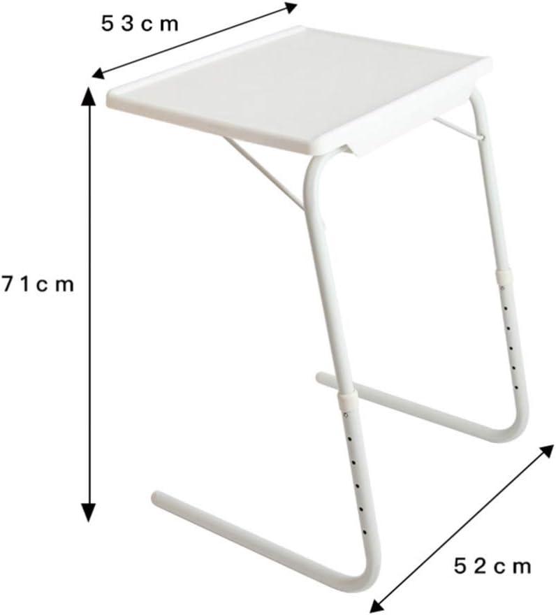 Vosarea 1 pc Folding Desk Adjustable Portable Fashion Laptop Table Reading Holder Standing Bed Desk for School