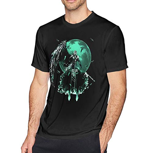 NeedLove Mens Particular Final Fantasy T-Shirts 6XL Black