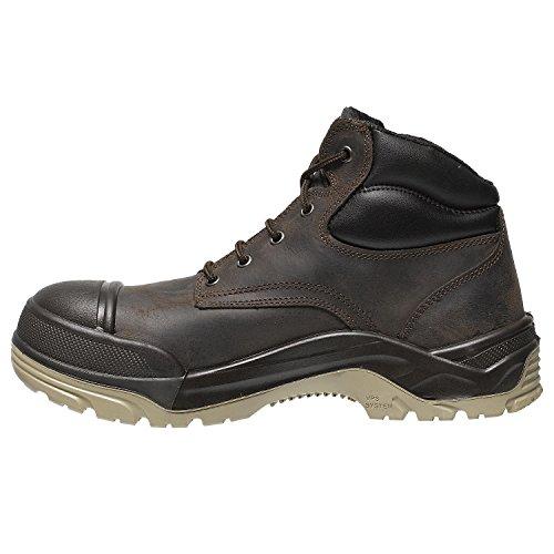 Parade 07NUMEX * 2845Scarpa di sicurezza alta marrone, Marrone, 07NUMEX*28 45 PT44