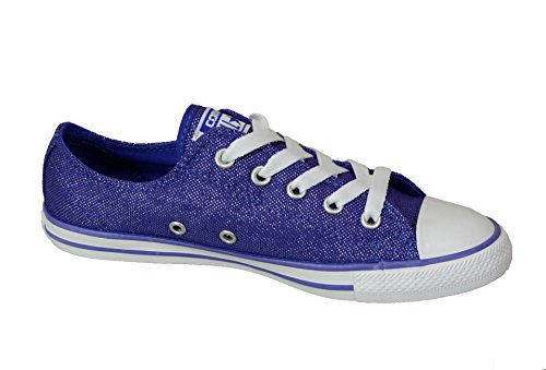 Converse Damen Women Girl Sneaker Schuhe Gr. 38 (US 7) Chuck Taylor All Star Dainty OX Low Periwinkle *** 547153F *** Canvas