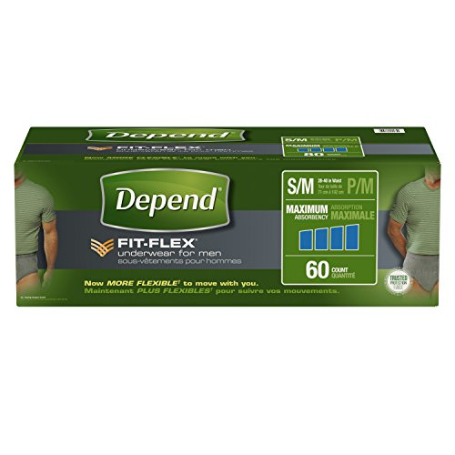Depend FIT FLEX Incontinence Underwear Absorbency product image