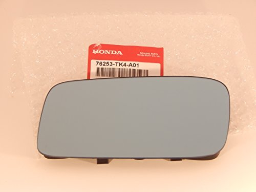 09-14 Acura TL Left Driver Mirror Glass Blue Heated w Rear Backing Plate OE