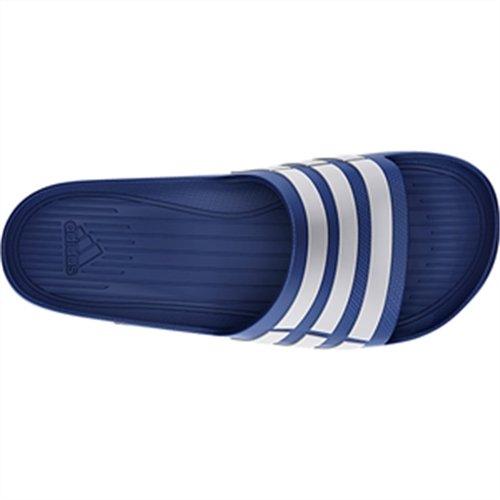 Bleu Bleu Duramo Unisex Ouverts Vrai Blanc Sandales Bouts vrai Slide Bleus Adult Adidas t7qnzXw