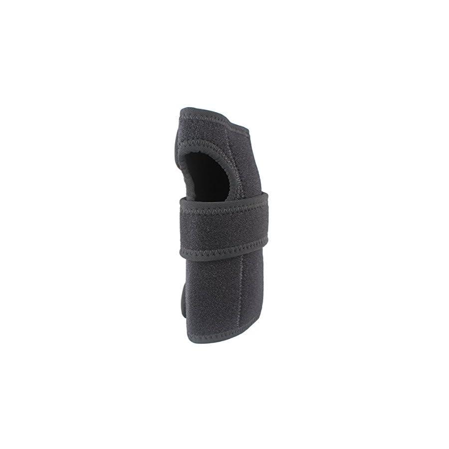 Medical Carpal Tunnel Wrist Brace Support Sprain Forearm Splint Band Stra Black