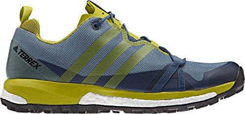 adidas Terrex Agravic, Zapatos de Senderismo para Hombre, Azul (Blu Azubas/Limuni/Vertac), 42 EU
