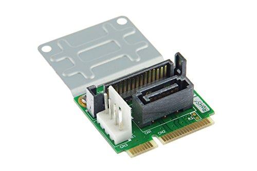 KNACRO Mini SATA to SATA adapter 7Pin (with Power interface) by KNACRO