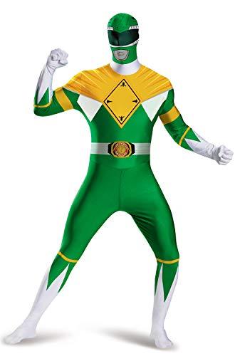 Green Ranger Costume - Disguise Men's Green Ranger Bodysuit Costume