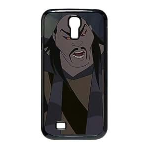 Samsung Galaxy S4 9500 Phone Case Cover Black Disney Mulan Character Shan Yu EUA15973287 Waterproof Phone Cover