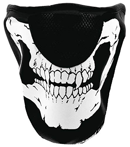 Schampa Technical Wear Onefleeceprene Half Mask Skull Vng100 ()