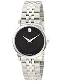 "Movado Women's 0606505 ""Museum"" Stainless Steel Bracelet Watch"