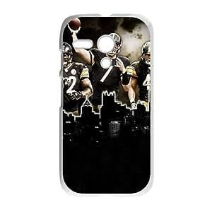 Motorola G Cell Phone Case White Pittsburgh Steelers I8241348