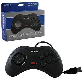 Retrolink USB SEGA Saturn Classic Controller [Black]