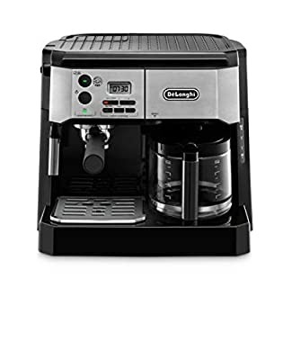 De'Longhi BCO430BM Combination Pump Espresso and 10c Drip Coffee Machine with Advanced Cappuccino System