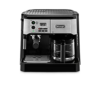 Image of De'Longhi BCO430BM Combination Pump Espresso and 10c Drip Coffee Machine with Advanced Cappuccino System Home and Kitchen
