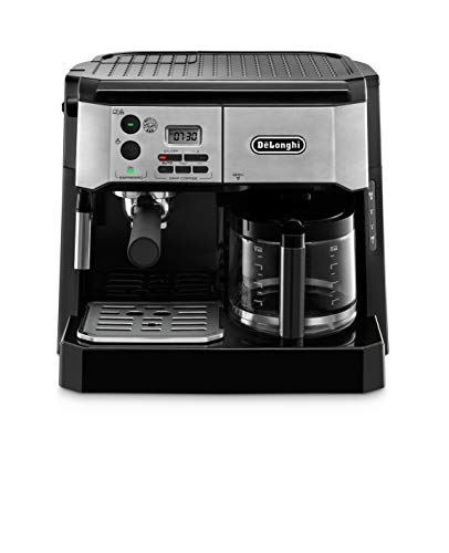 De'Longhi BCO430BM Combination Pump Espresso and 10c Drip Coffee Machine with Advanced Cappuccino System ()