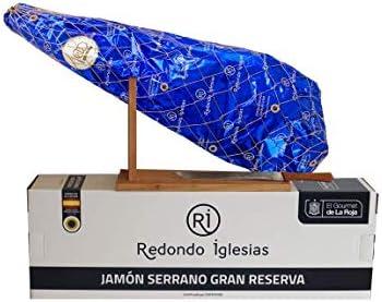 LOTE Jamon Serrano Gran Reserva + Jamonero + Cuchillo