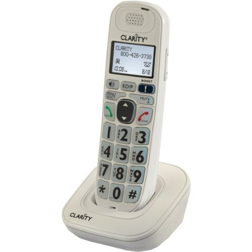 Expandable Handset for D702, D712 and D722 Amplified Cordless Phones - CLARITY by Clarity